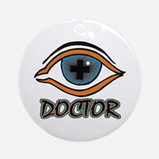 Eye Doctor Ornament (Round)