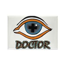 Eye Doctor Rectangle Magnet (100 pack)