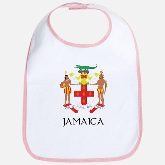 Coat of Arms of Jamaica Bib