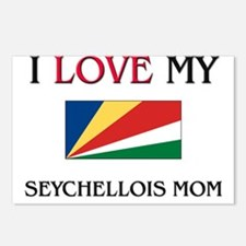 I Love My Seychellois Mom Postcards (Package of 8)