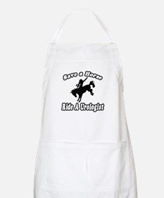 """Save a Horse...Ride A Urologist"" BBQ Apron"