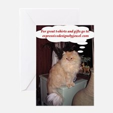 Red Persian - Ad Greeting Card