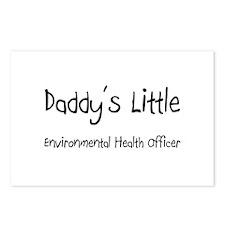 Daddy's Little Environmental Health Officer Postca