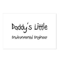 Daddy's Little Environmental Engineer Postcards (P
