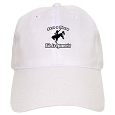 """Save Horse, Ride Optometrist"" Baseball Cap"