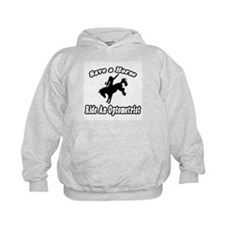 """Save Horse, Ride Optometrist"" Hoodie"
