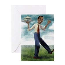 Cute President race Greeting Card