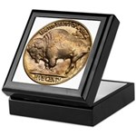 Nickel Buffalo Keepsake Box