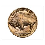 Nickel Buffalo Small Poster