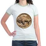 Nickel Buffalo Jr. Ringer T-Shirt