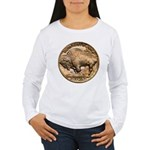 Nickel Buffalo Women's Long Sleeve T-Shirt