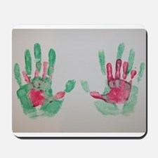 In Daddy's Hands by Erin Page Mousepad