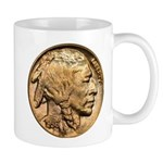 Nickel Indian Head Mug