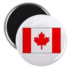 "Canadian Flag 2.25"" Magnet (10 pack)"