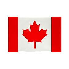 Canadian Flag Total Rectangle Magnet