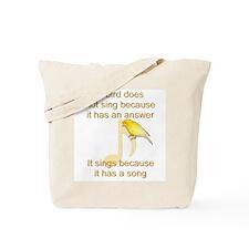 Custom Canary Tote Bag
