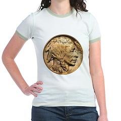 Nickel Indian Head Jr. Ringer T-Shirt