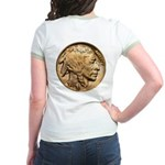 Nickel Indian Head Jr. Ringer T-Shirt
