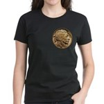 Nickel Indian Head Women's Dark T-Shirt
