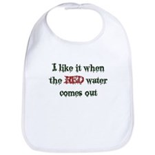 Red Water Bib