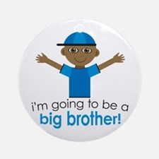 Big Brother To Be Ornament (Round)