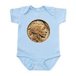 Nickel Indian Head Infant Bodysuit