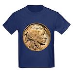Nickel Indian Head Kids Dark T-Shirt
