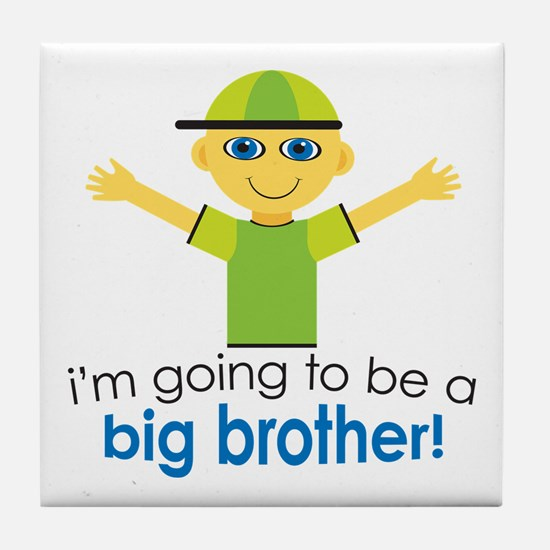 Big Brother To Be Tile Coaster