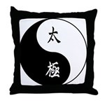 Taiji Throw Pillow