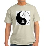 Taiji Ash Grey T-Shirt