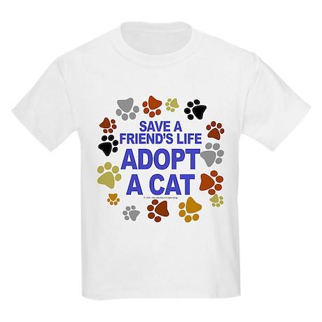 Save life, cat. Kids T-Shirt