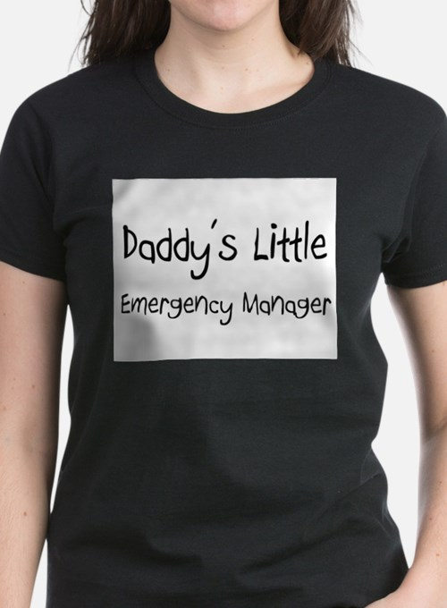 Daddy's Little Emergency Manager Tee