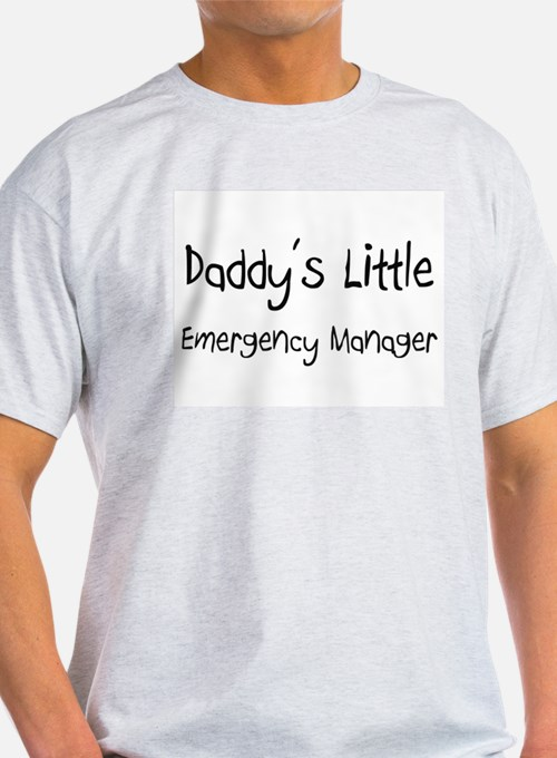Daddy's Little Emergency Manager T-Shirt