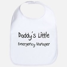 Daddy's Little Emergency Manager Bib