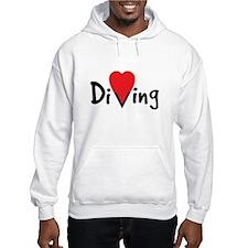 Diving Love Hoodie