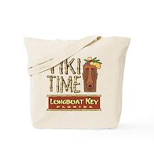 Longboat Key Tiki Time - Tote or Beach Bag