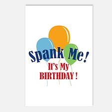 Spank Me Birthday Postcards (Package of 8)