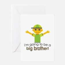 Big Brother To Be Greeting Card