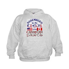 USA / Canadian Parts 2 Hoodie