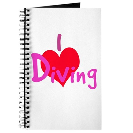 I Love Diving Journal