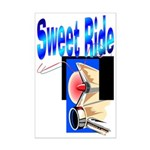 Sweet Ride Mini Poster Print