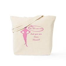 Cute 50 s Tote Bag