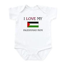 I Love My Palestinian Mom Infant Bodysuit