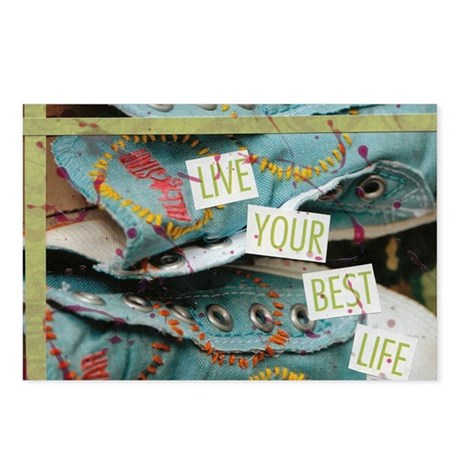 Live Your Best Life Postcards