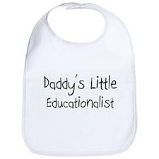 Daddy's Little Educationalist Bib