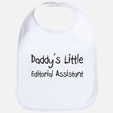 Daddy's Little Editorial Assistant Bib