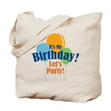 Birthday Party Balloons Tote Bag