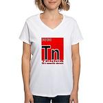 Tennis Element Women's V-Neck T-Shirt