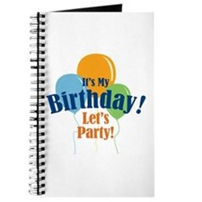 Birthday Party Balloons Journal