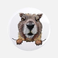 """Yellow-bellied Marmot 3.5"""" Button (100 pack)"""